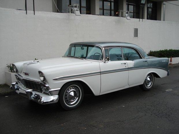 1956 - Chevrolet, Bel-Air 4Door HT