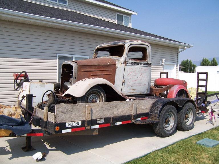 1936 - chevrolet, 1/2 ton