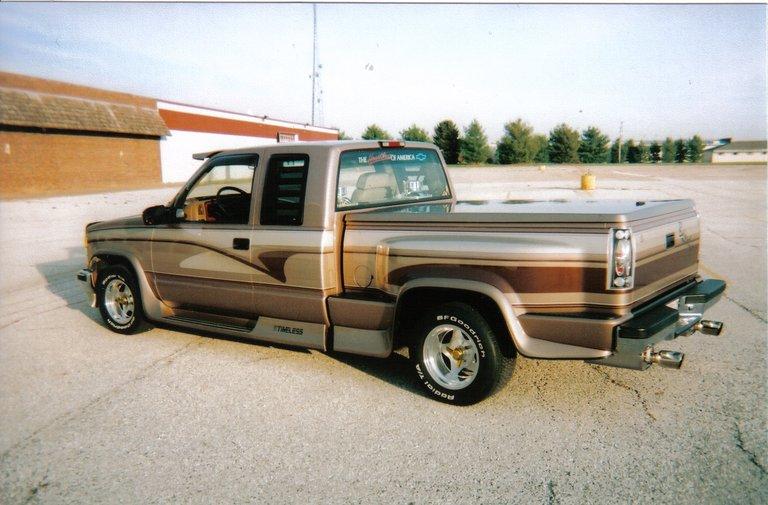 1995 - Cheverolet, stepside/club cab
