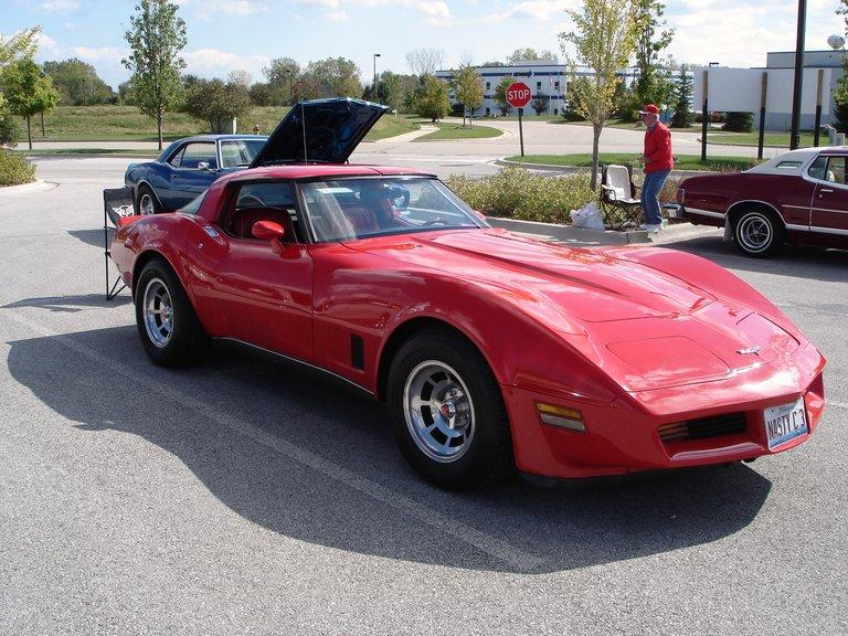 1980 - chev, corvette