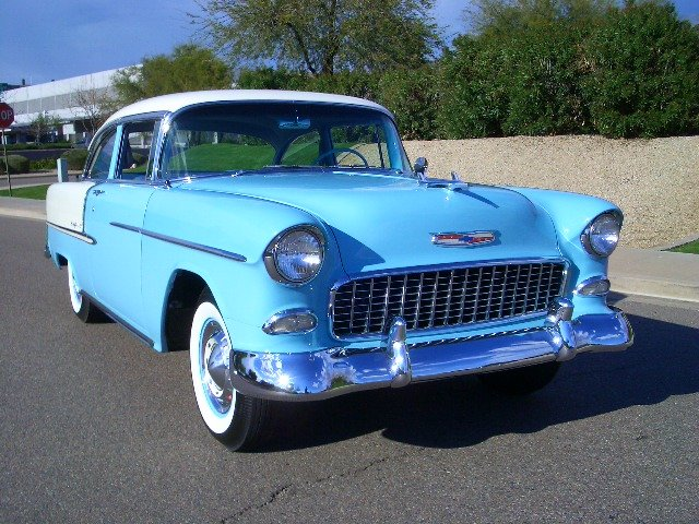 1955 - Chevrolet, Bel Air