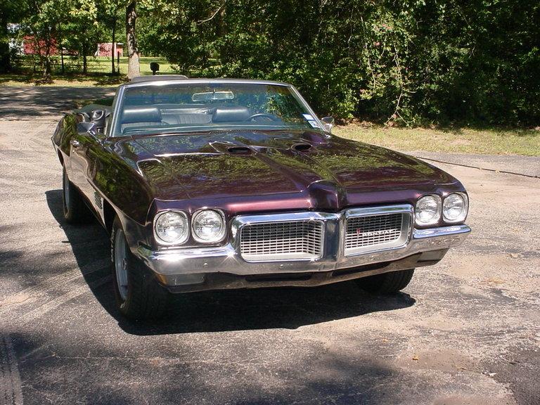 1970 - Pontiac, LeMans Sport Convertible