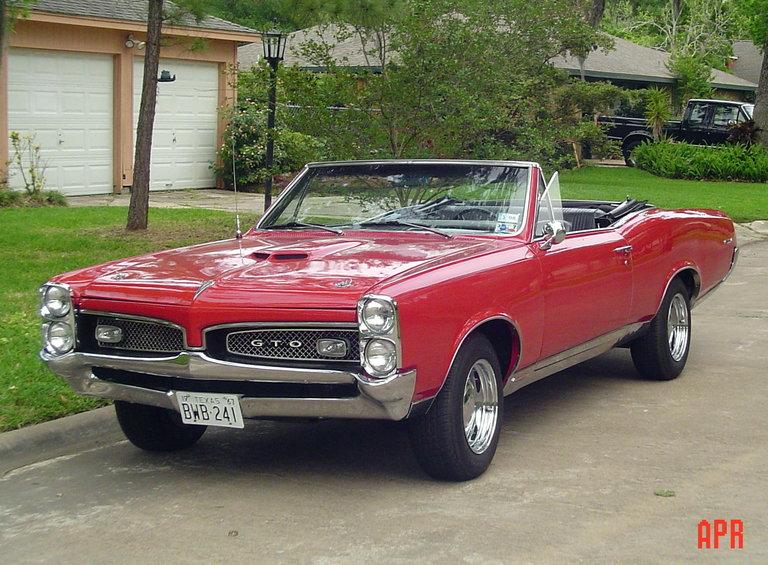1967 - Pontiac, GTO Convertible