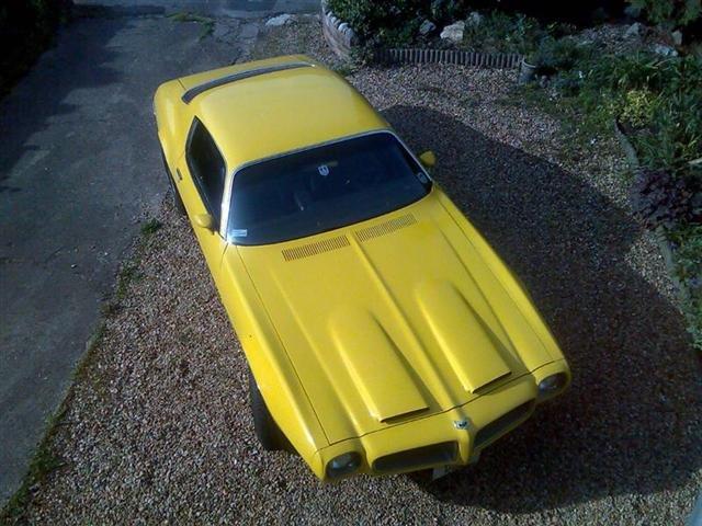 1970 - Pontiac, Firebird Formula 400