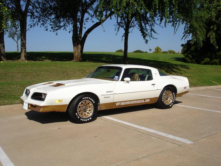 1978 - Pontiac, Formula Firebird
