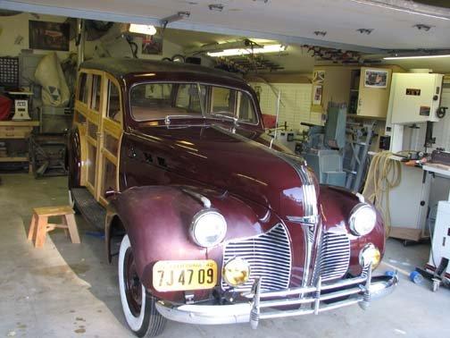 1940 - Pontiac, Woodie wagon