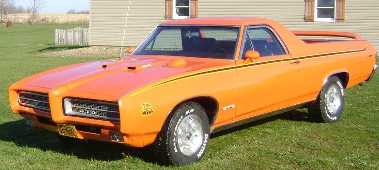 """1969 - Pontiac, """"The ElCamino Judge"""""""