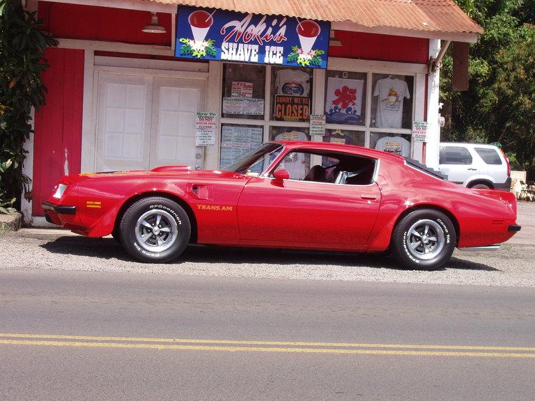 1974 - Pontiac, Trans Am
