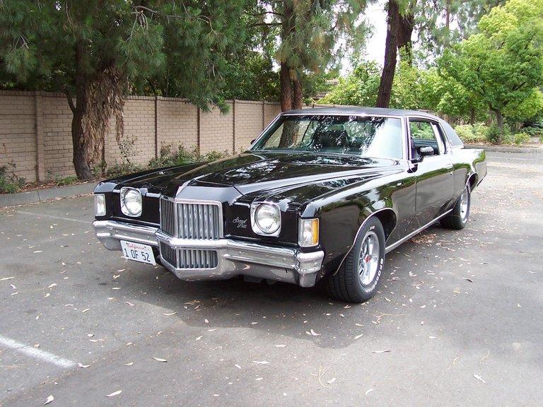 1971 - Pontiac, Grand Prix Model J
