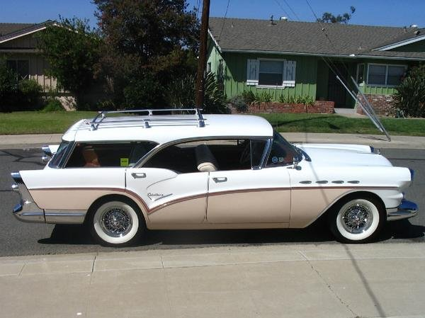 1957 - Buick, Century Caballero Estate Wagon