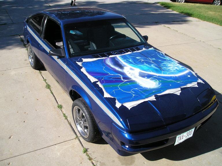 1986 - Buick, Skyhawk Turbo T-Type Sporthatch