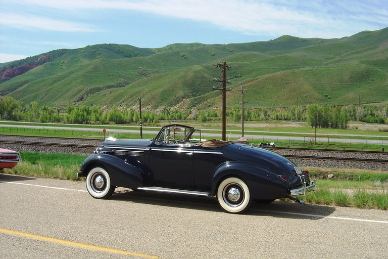 1938 - Buick, Special Convertible Coupe 46c