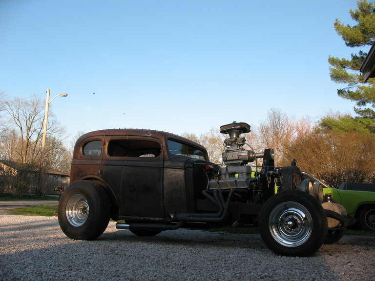 1934 - Buick, Rat Rod
