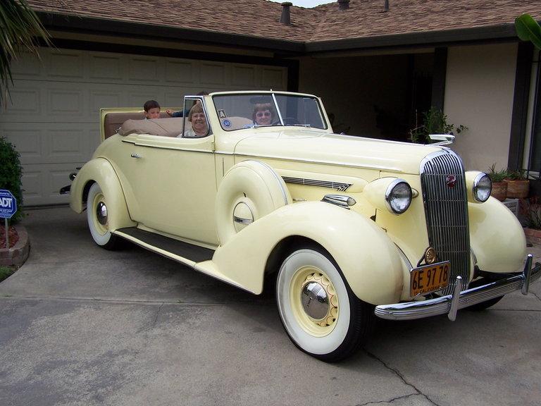 1936 - Buick, 60 Series Century Convertible