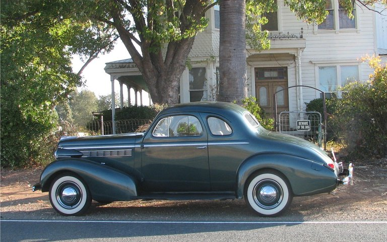 1938 - Buick, Special Sport Coupe with Opera Seats