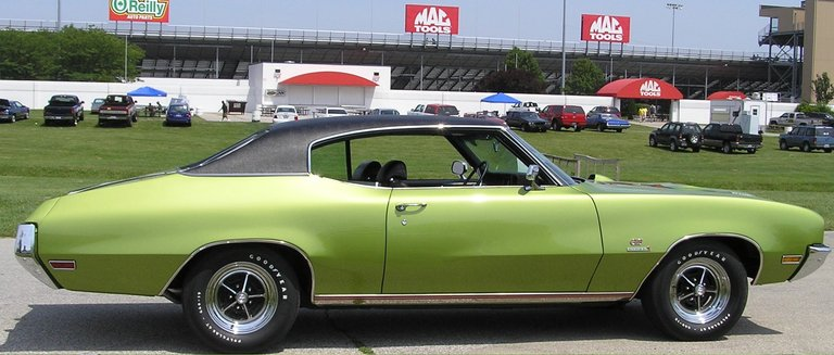 1971 - Buick, GS Stage 1