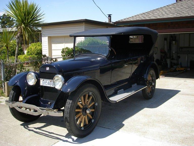 1922 - Buick, 49 Seven (7) Passenger