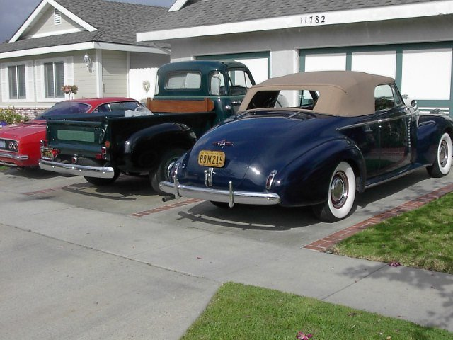 1940 - Buick, Roadmaster Conv Cpe