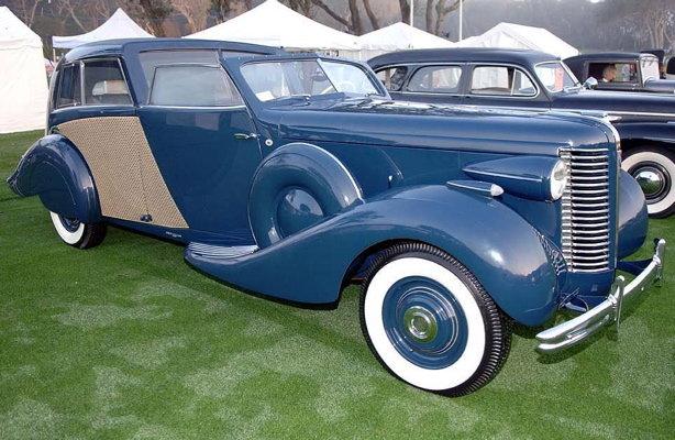 1938 - Buick, series 80 Fernandez & Darrin Opera Brougham