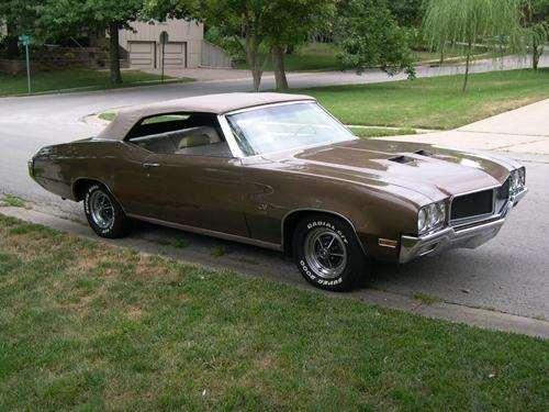 1970 - Buick, GS455 Convertible