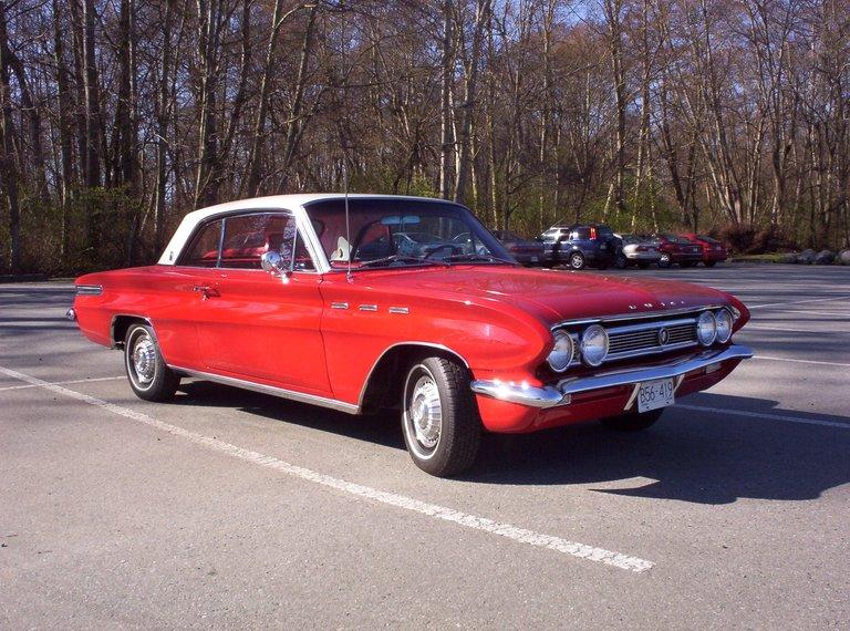 1962 - Buick, Skylark #4347 Coupe
