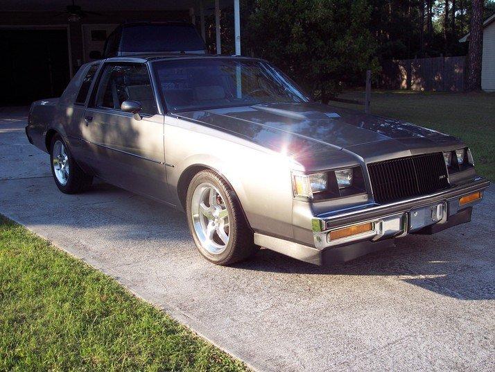 1986 - Buick, T-type