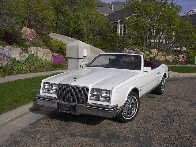 1983 - Buick, Riviera Convertible
