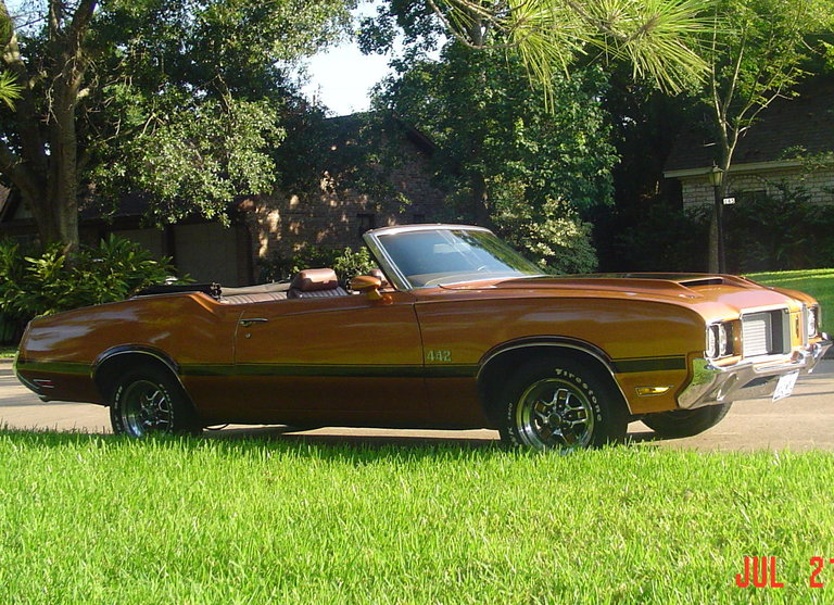 1972 - Oldsmobile, 442 Convertible