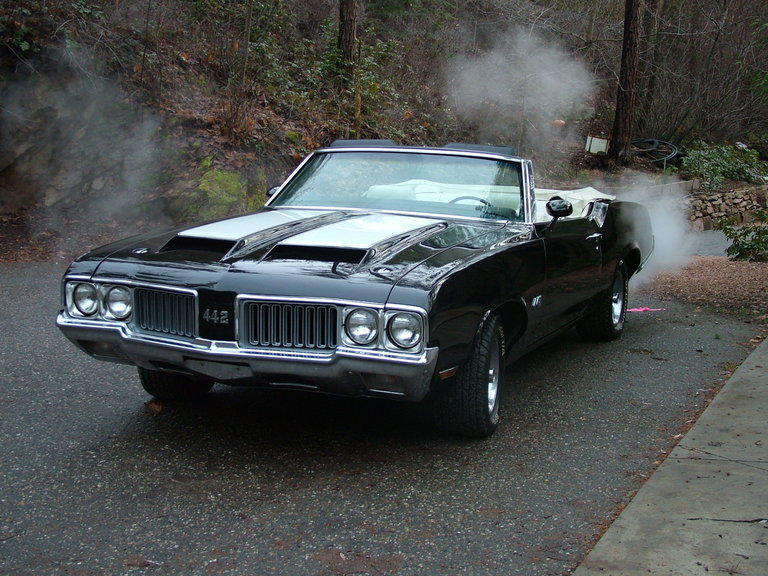 1970 - Oldsmobile, 442 Convertible