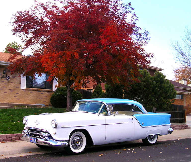 1954 - Oldsmobile, Super 88 Holiday Cpe