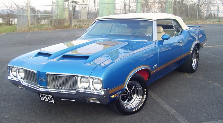 1970 - olds, 442