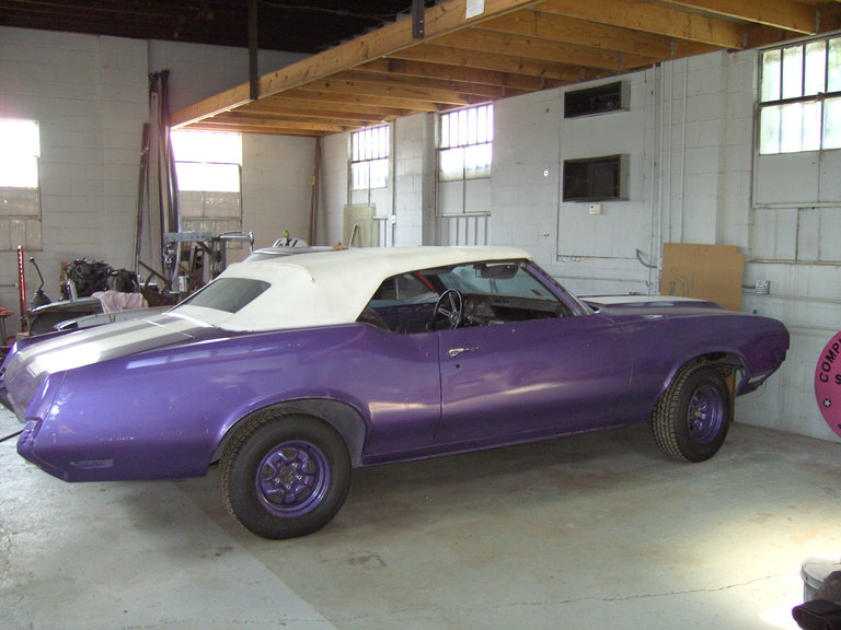 1970 - Oldsmobile, 442 W-30 Convertible