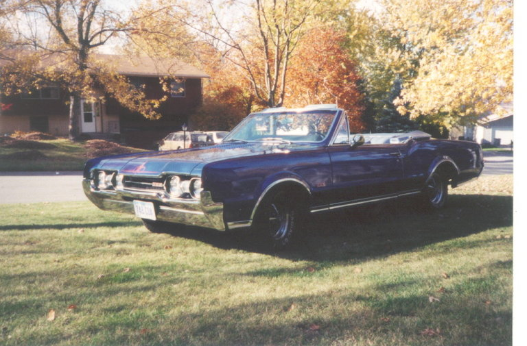 1967 - Oldsmobile, 442 Convertable
