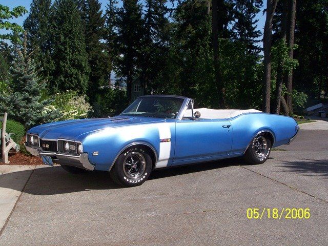 1968 - OLDSMOBILE, 442 Convertable