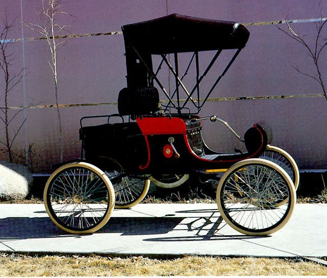 1902 - Oldsmobile, Runabout