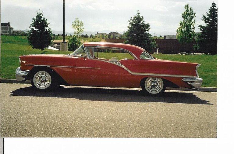 1957 - Oldsmobile, Super 88 Holiday Coupe
