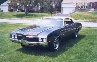 1969 - Oldsmobile, 442 Convertible