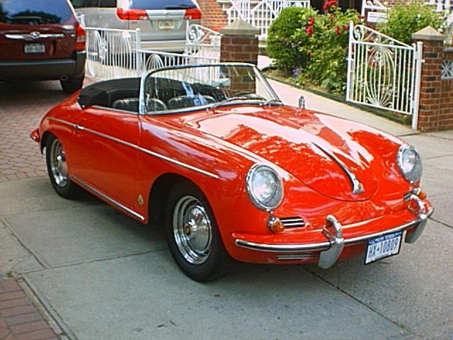 1960 - porsche, roadster