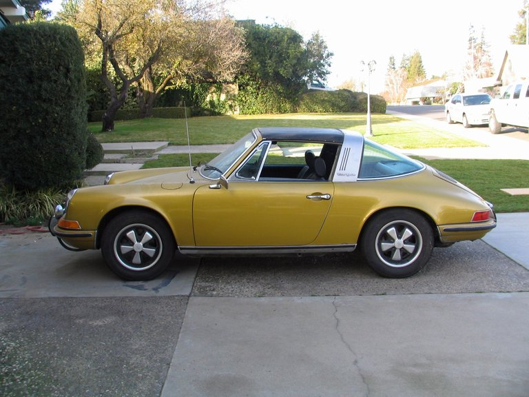 1972 - porsche, 911E