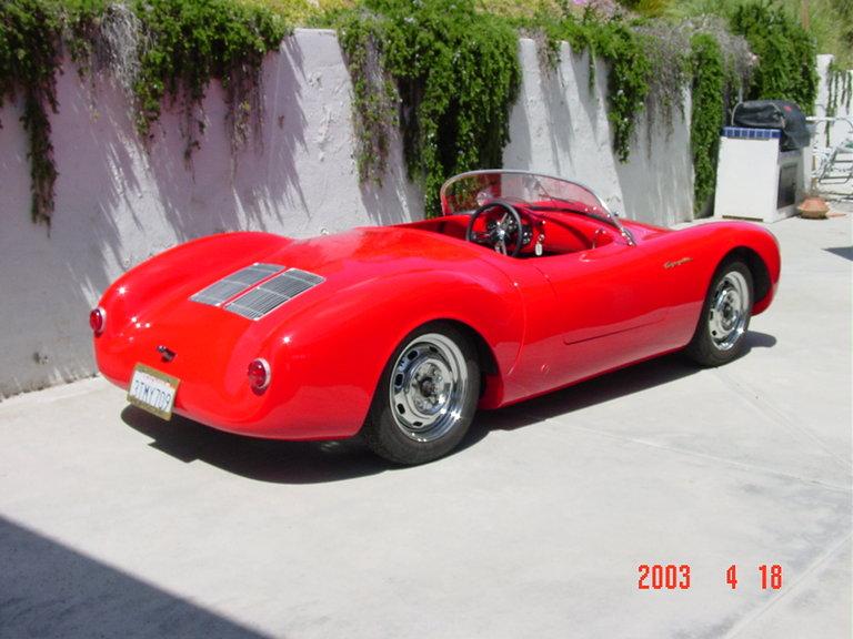 1955 - Porsche, Spyder