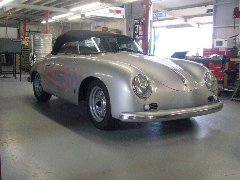 1959 - Porsche, Carrera Speedster