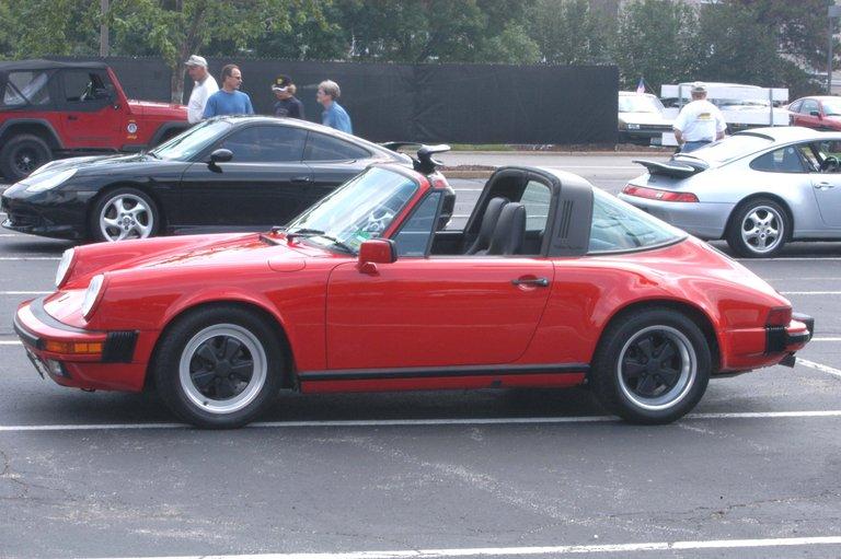 1989 - Porsche, 911 Carrera Targa