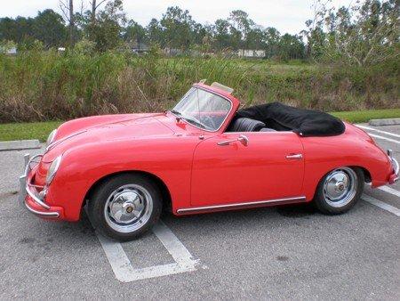 1957 - Porsche, 356A 1600 Cabriolet