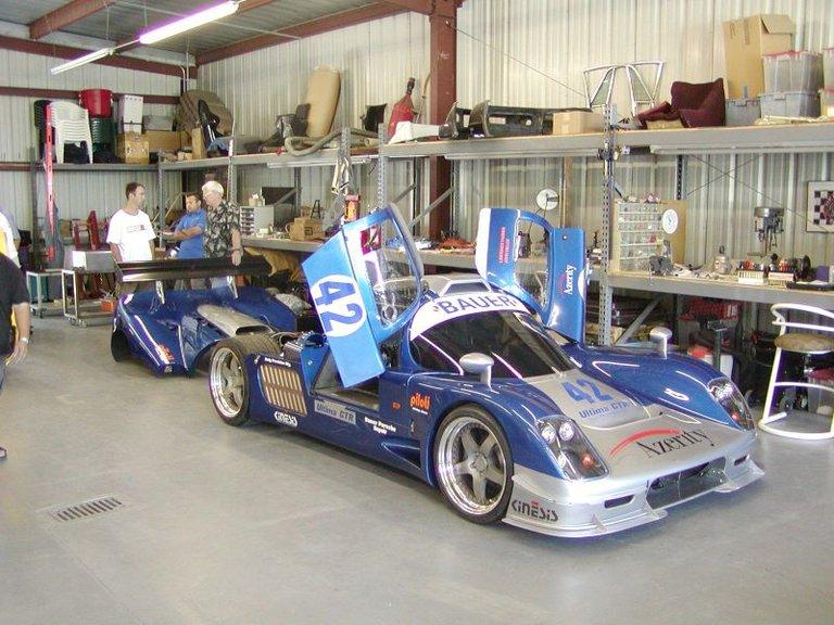 2008 - Porsche, Ultima GTR