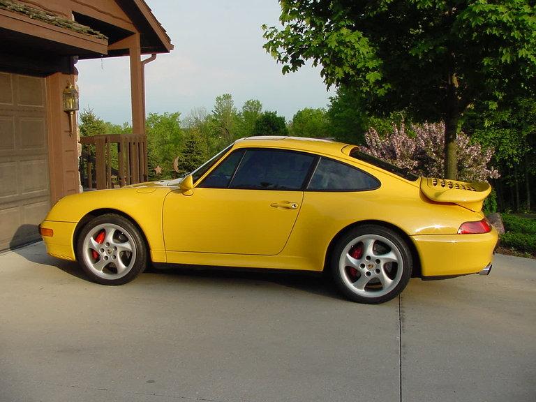 1997 - Porsche, 993 TT