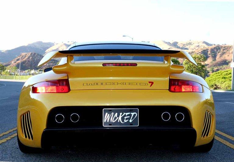 2003 - Porsche, Wicked-7 GT2-RS Twin Turbo Mega Wide Body