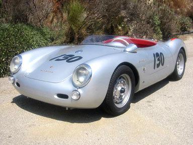 1956 - Porsche, Spyder 550
