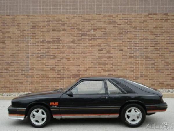 1984 - mercury, capri rs 5.0