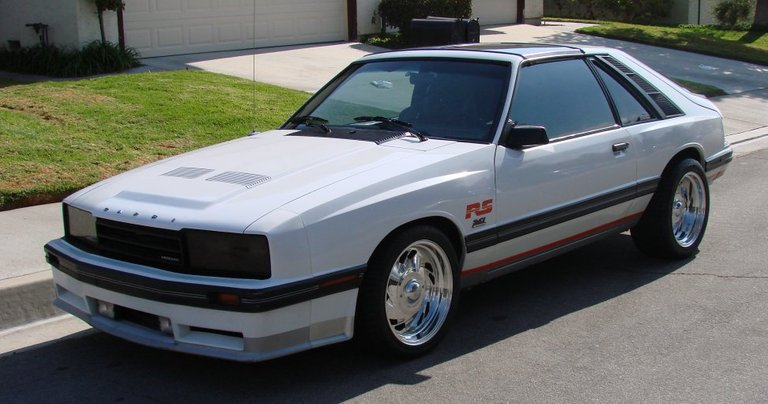 1984 - Mercury, RS Capri