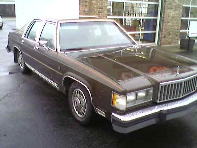1985 - Mercury, Grand Marquis